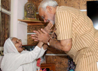 PM Modi's 98-year-old mother Heeraben donates Rs25k to PM-Cares