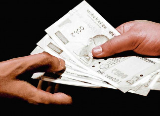 Rajasthan ACB traps official accepting bribe in Delhi