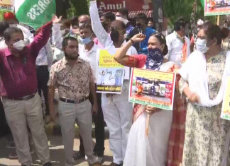 GPCC chief, others detained ahead of padyatra against petrol price hike in A'bad