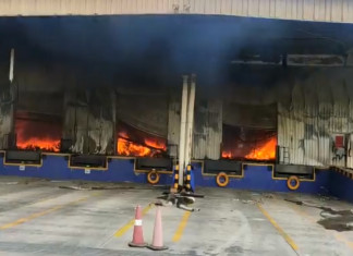 Fire at GIDC in Sanand: 24 hours later, officials still struggling to douse flames