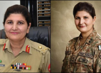 Pak army gets its first female lieutenant general