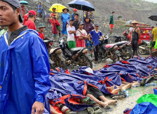 Landslide at a jade mine in Myanmar kills 100 workers, death toll to go up