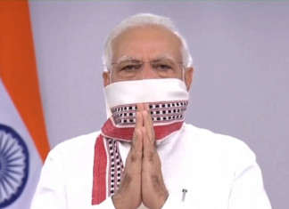 PM Modi urges people to light a diya for security forces