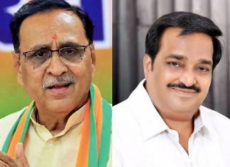 To accept or not to accept: CM Rupani, BJP state chief CR Patil sing different tunes on Congress leaders' entry into BJP