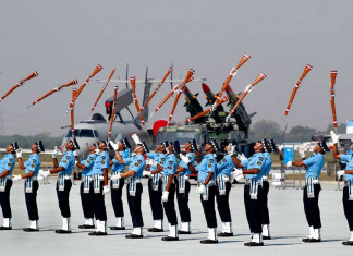 A glimps of astonishingly decorated morning at Hindon Airbase