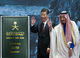 What is attracting 7.5k chinese at Saudi: Inflow increased in 10 days