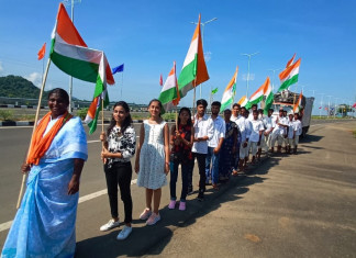 Tamil lady walks for integrity from Delhi to The Statue Unity; recorded……..