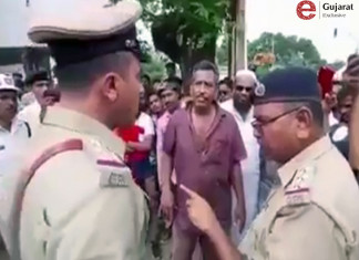Vadodara: Citizen Taught Lesson To Traffic Police Video Viral