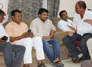 Hardik Patel Raise Voice Against The Government For Farmers