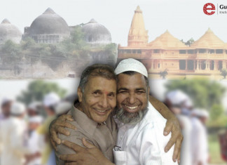 """""""Ram ki Ayodhya"""": The Mosque Built on the Ground Hanumandhi,  Religious Distances are NOT Visible"""