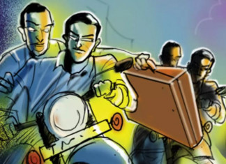 1 crore gold looted in Ahmedabad, two flee with 2.5 kg gold on Anjali Bridge