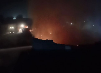 Fire breaks out at textile factory in Narol, heavy loss reported