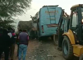 9 Killed,10 Injured in Bus-Truck Collision in Rewa MP