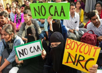 Massive Protest Against the CAA  Taking Place Across the Country Today