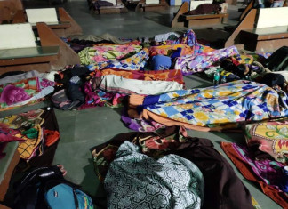 LRD Exam Leak: Women Candidates Forced to Sleep in Open Inside Bus Depot in Gandhinagar