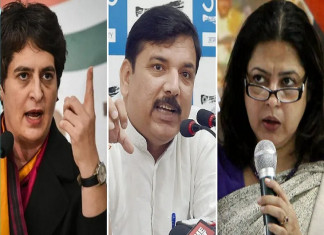 AAP Demands FIR Against BJP's Anurag Thakur for Provoking People to Shoot Through Speeches