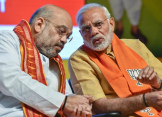 PM Modi, Amit Shah elated over BJP's victory in Gujarat civic polls
