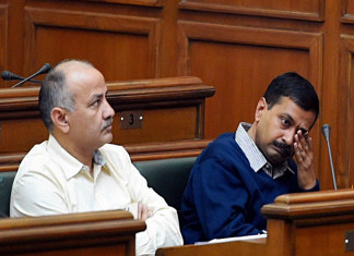 Arvind Kejriwal tears copies of farm laws in Delhi Assembly