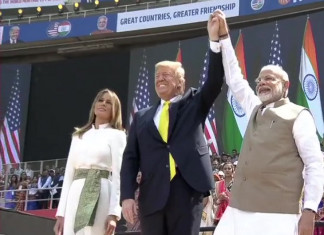 PM Modi Replies to Trump's Speech at Motera Stadium, Says 'Thank You For Kind Words'