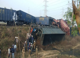 Two Cargo Trains Collide in Singrauli of MP