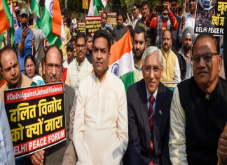 Controversial Slogans Raised at 'Peace March' Attended by Kapil Mishra