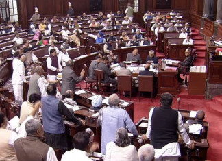 Rajya Sabha Proceedings Adjourned till 2 pm As Opposition Protests Over Delhi violence
