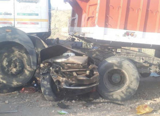 11 dead, 3 injured in road accident