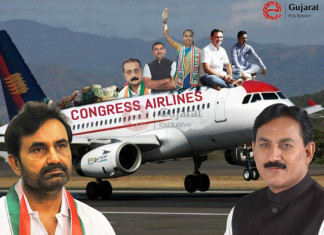 Gujarat Congress shifts MLAs to Jaipur, Udaipur ahead of RS polls