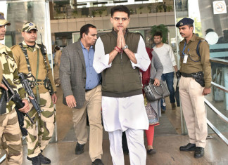 Congress brings Pilot to soothe rebellion in Gujarat Congress before RS polls