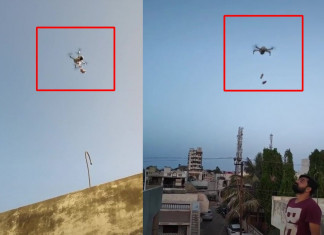 Drone used for delivery of pan masala in Gujarat, two arrested