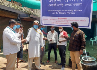 NGO, police join hands to start cluster kitchens for migrants