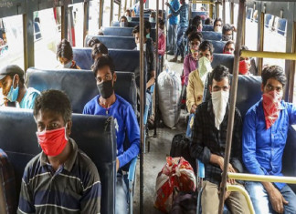 Travel from Surat to Saurashtra, other parts of Guj allowed but only by bus