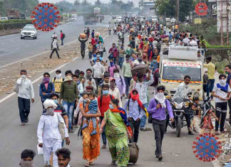 Fearing Covid19, Vadodara revenue dept officials refuse to be involved in sending migrants home