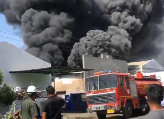 Massive fire in chemical factory in Bharuch, no casualties