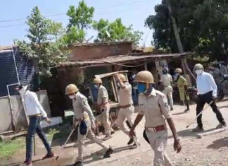 Cops detain villagers as they protest fencing of land near Statue Of Unity