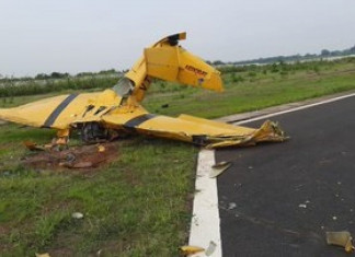 2 dead as aircraft crashes in Odisha's Dhenkanal