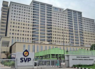 SVP hosp mgmt issues notice to contract company that had announced pay cuts
