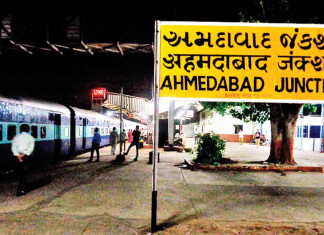 Rly station in city now experiments with footwear sanitiser mats
