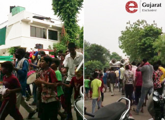 A'bad police probes viral video of funeral procession with band baaja