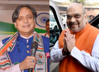 Shashi Tharoor questions Amit Shah for choosing pvt hospital for COVID-19 treatment