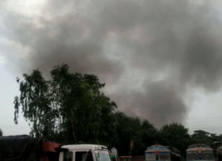 Another fire reported in Nandan Denim unit of Chiripal Group