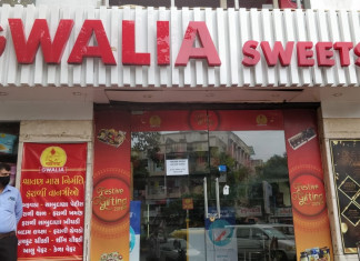 2 employees test positive, AMC seals Gwalia sweets shop in Vastrapur
