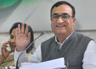 Ajay Maken hopes to resolve Rajasthan crisis in 3 months