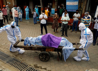 Over 1.15 lakh COVID-19 cases, 630 deaths reported in a day in India