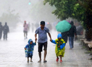 Southwest monsoon hits Kerala after a delay of two days