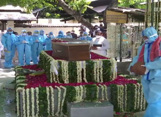 Pranab Mukherjee laid to rest with full military honours