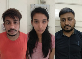 Couple held for Rs24 lakh online fraud took family's help to execute crime
