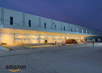 Amazon's Fulfillment Center begins functioning near Bavla in Ahmedabad.