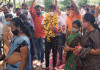Social distancing goes missing in Surat BJP corporator Amit Rajput's corona recovery party