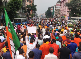 Several BJP workers injured after clashes with Bengal police